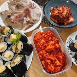 韓国な夕飯
