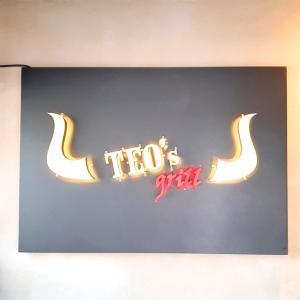 【TEO'S grill】キムチ好きの韓国男子が珍しくステーキ食べたいって言い出した(´∀`*)