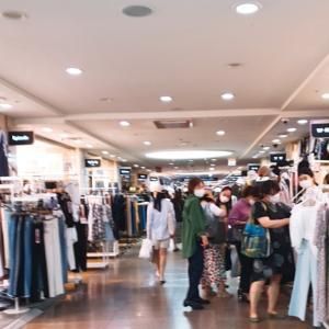 【高速ターミナル】go to mallでワンピースを探しまくりました(´∀`*)