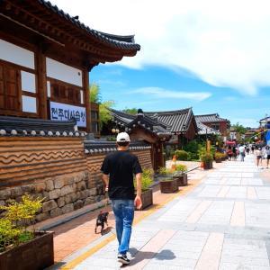 茹だるような暑さの中、全州韓屋マウルをお散歩(´∀`*)
