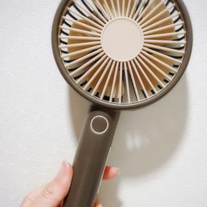 【韓国ダイソー】3台目のミニ扇風機を購入(*´∇`)