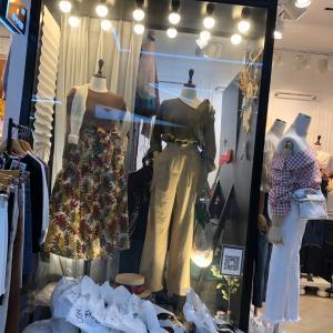 【クイーンズスクエア】東大門で欲しかったスカート購入できたッ(*´∇`)