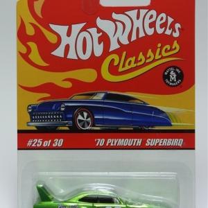 '70 Plymouth Superbird -Hot Wheels-