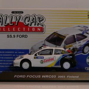Ford Focus WRC03 2003 Finland -CM's-