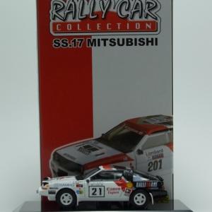 Mitsubishi Starion Turbo Gr.A 1986 1000Lakes -CM's-
