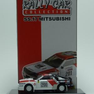 Mitsubishi Starion 4WD Gr.B 1984 Milles Piste -CM's-