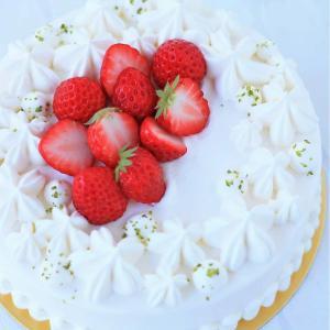 桜の口金で仕上げる胸きゅん(笑)デコレーションケーキ