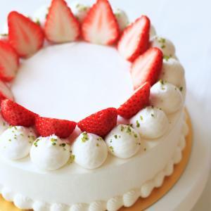 コツは固定!! シンプルがかわいい♪丸口金で仕上げるデコレーションケーキ