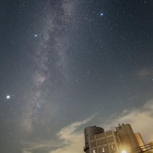 西播磨天文台で星撮り