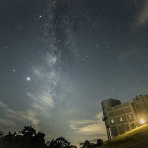西播磨天文台で天の川