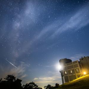 西播磨天文台で流れ星