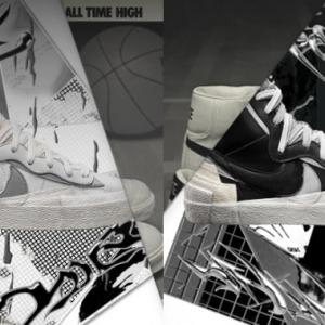 Sacai × Nike Blazer Mid ナイキとサカイのコラボスニーカー新作登場