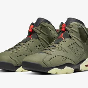 Travis Scott × Nike Air Jordan 6 Retro トラビス・スコット