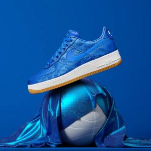 CLOT×NIKE【AIR FORCE1】 ROYALE UNIVERSITY BLUE 国内