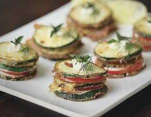 超簡単かつ絶品! ウクライナ料理? ズッキーニとトマトのマヨサンド