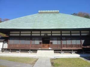 さすが五山 どっしりとした銅葺屋根の浄妙寺