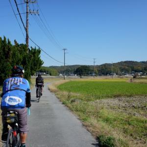 色づいた秋を探すグルメライドへ!大阪から三田を徘徊する150kmライド!!