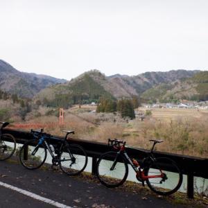 冬の美山を走る!京都南丹の日吉から美山をまわるグルメライドへ!!