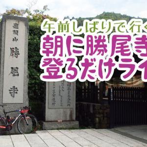午前縛りで行く!箕面・勝尾寺を走って「Cafe terrace Kum Kum」へ!!