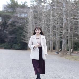 新宿の公園で、リクエスト撮影 20200218 『逢坂 美由紀』さん