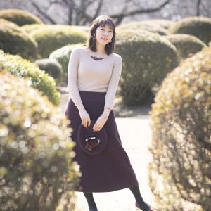 新宿の公園で、リクエスト撮影 20200218 『逢坂 美由紀』さん 7