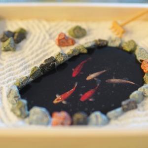 バレンタインにも!食べられる日本庭園。
