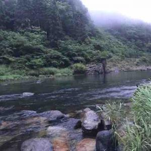 五ヶ瀬川の鮎釣り解禁