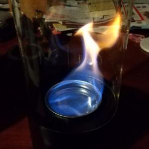 お部屋で火遊び。バイオエタノール暖炉