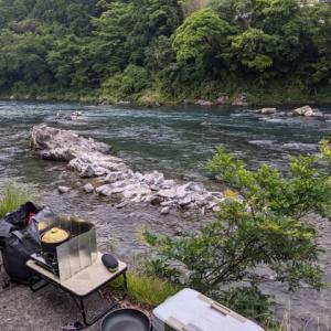四万十川の鮎釣り解禁