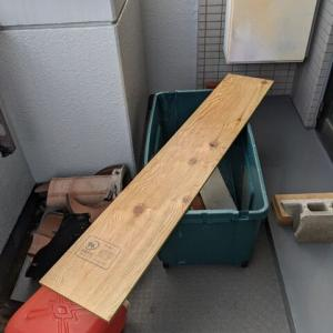 ハイエースの快適化。スライドドア庇の製作