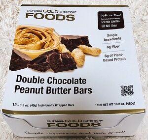 ダークチョコレートナッツ海塩バーがめちゃくちゃおいしくて大好きですが、そちらが売り切れだったのでこっちを買ってみました!カリゴールドプロテインバーの新作♪⇒