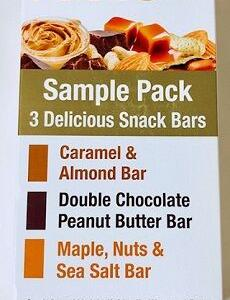 愛するしかない♡・・California Gold Nutrition, Sample Snack Bar Pack, 3 Bars