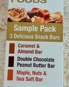 これ本当にリピしまくり!!カリフォルニア ゴールド ニュートリションCalifornia Gold Nutritionの3バー♡ダブルチョコレートバー、メープルナッツバー、キャラメルバー♪