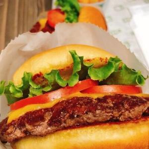 チートデイはシャックバーガー♡久しぶりにシェイクシャックのシャックバーガーが食べたくて、シェイクシャックへ行ってきました!