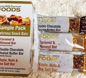 アイハーブでまた買いましたよ~~♡ この3本アソートがいいんですよね。California Gold Nutrition, Sample Snack Bar Pack, 3 Bars