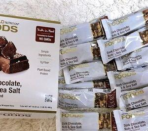 甘くて美味しいチョコレートバーなのに全然太らないアイハーブに売ってるプロテインバー!