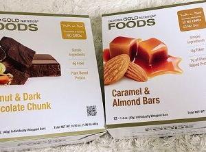 低糖質なのにめちゃめちゃ美味しすぎるチョコチャンク付きのプロテインバー♪
