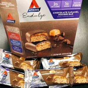 美味しくて糖質2g★まるでスニッカーズのチョコレートプロテイン♪安心して食べれるし美味しくてやみつきなんですよお。これ♪