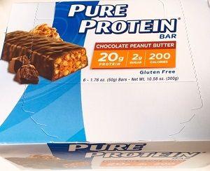 【iHerb】お勧めプロテインバー!Pure Protein, チョコレートピーナッツバター・バー #プロテインバー
