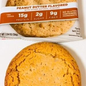 【美味しくてリピ!】クエスト社のプロテインクッキー♪ピーナッツバター味!  Quest Nutrition, プロテインクッキー、ピーナッツバター