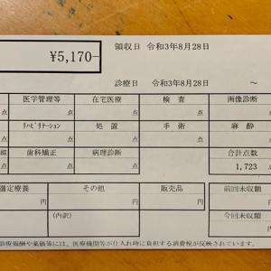 歯医者〜2021.8③〜