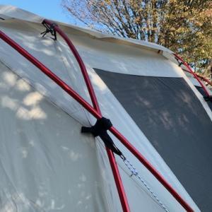 ランドロック アイボリー レッドフレームと共に、秋の出会いの森を満喫キャンプ!!その2