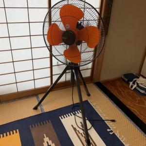 工業用のでっかい扇風機を持ってたのを思い出し、、、、気付くのちょっと遅かったね!!