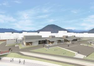 関市/県刃物会館建て替え・交流施設新築へ起工式