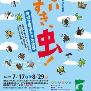 美濃加茂市/だいすき、虫!・みのかも文化の森で企画展