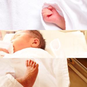 女の子を出産