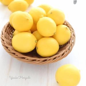 【簡単レシピ】越冬完熟 島レモン