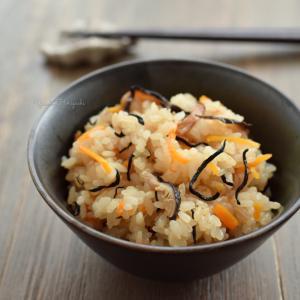 【簡単レシピ】炊込みおこわ
