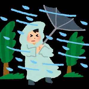 台風ひどし