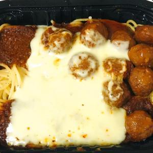 セブン-イレブン「ミートソーススパゲッティ」+セブンのミートボール